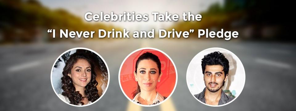 Celebrity drink drivers